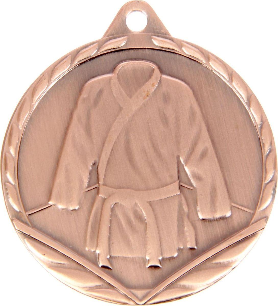 Медаль сувенирная Дзюдо, цвет: бронзовый, диаметр 4,5 см. 13877291387729Медаль под бронзу Дзюдо - достойный сувенир за отличные достижения. Эффектная фигурная медаль станет отличной наградой и порадует получателя. Медаль поможет ярко и необычно поздравить спортсмена и сохранит приятные воспоминания.