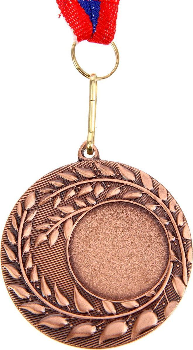 Медаль сувенирная с местом для гравировки, цвет: бронзовый, диаметр 5 см. 0561510629Невозможно представить нашу жизнь без праздников! Мы всегда ждём их и предвкушаем, обдумываем, как проведём памятный день, тщательно выбираем подарки и аксессуары, ведь именно они создают и поддерживают торжественный настрой. Это отличный выбор, который привнесёт атмосферу праздника в ваш дом!