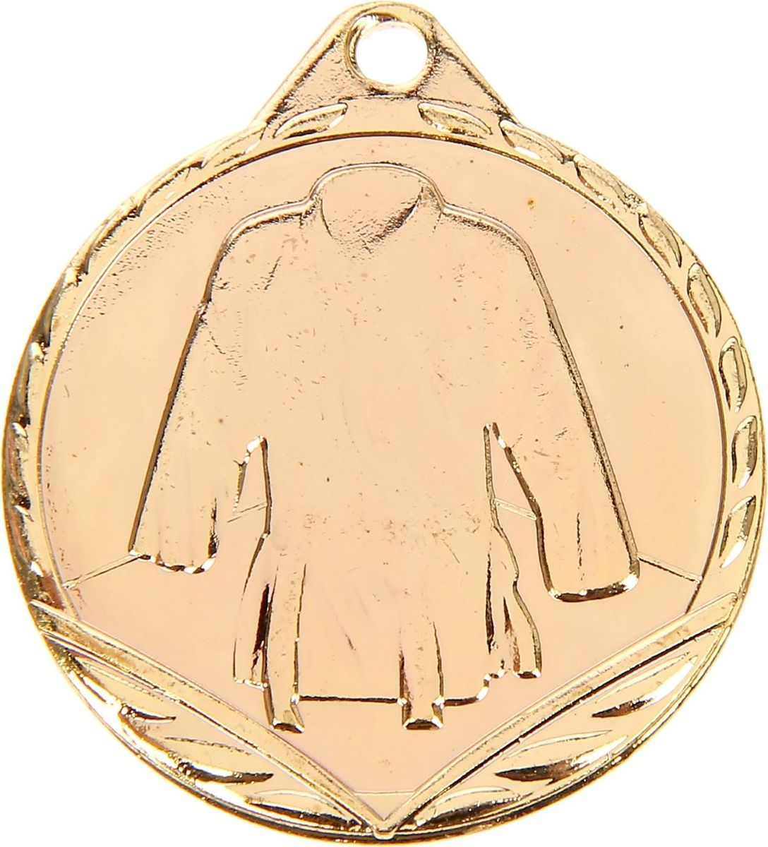 Медаль сувенирная Дзюдо, цвет: золотистый, диаметр 3,2 см. 0661510641Медаль - знак отличия, которым награждают самых достойных. Она вручается лишь тем, кто проявил настойчивость и волю к победе. Каждоедостижение - это важное событие, которое должно остаться в памяти на долгие годы.Медаль тематическая Дзюдо изготовлена из металла.