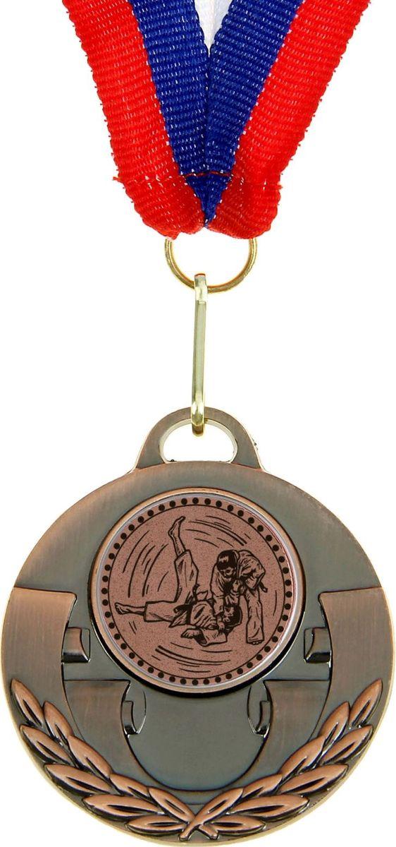 Медаль сувенирная Дзюдо, цвет: бронзовый, диаметр 5 см. 025864134Невозможно представить нашу жизнь без праздников! Мы всегда ждём их и предвкушаем, обдумываем, как проведём памятный день, тщательно выбираем подарки и аксессуары, ведь именно они создают и поддерживают торжественный настрой. Это отличный выбор, который привнесёт атмосферу праздника в ваш дом!