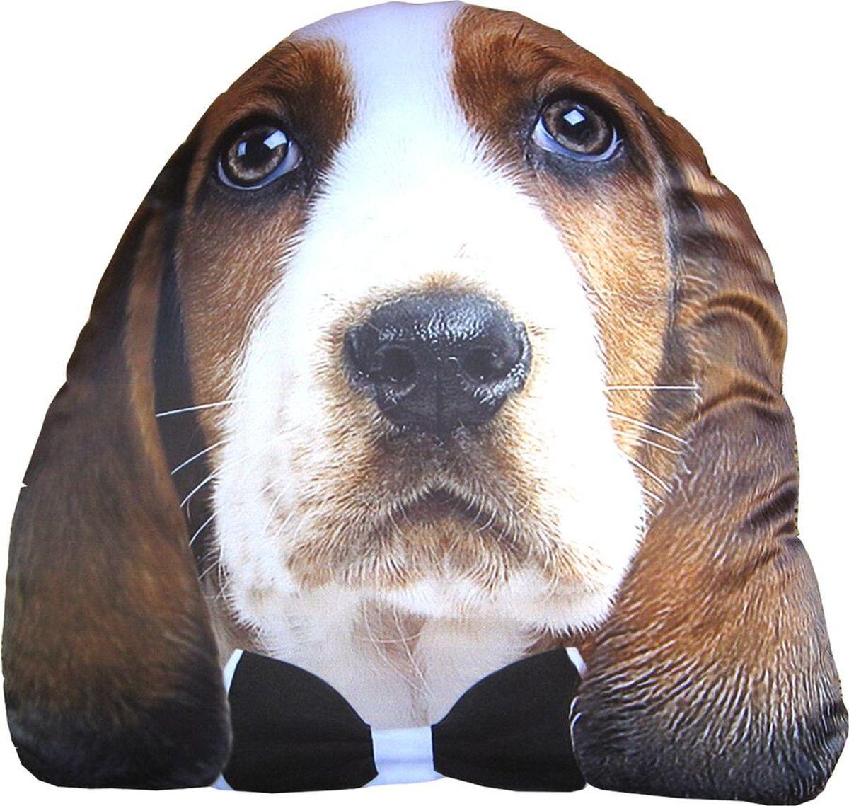 Подушка декоративная GiftnHome Пес джентльмен, 38 x 38 смPLW-Face Пес джентельменИнтерьерные подушки с модными принтами внесут яркие краски и актуальныйстиль в интерьер вашего дома, дачи, офиса или студии. Подушки имеют съемный чехол и цельный вкладыш, что обеспечиваетмаксимальное удобство в стирке и чистке.