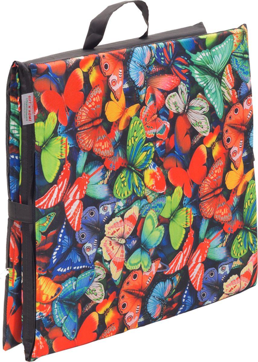 Подушка на стул GiftnHome Бабочки, 40 х 120 смSEAT-3 БабочкиДанное изделие прекрасно подходит для пикника на траве, подкладки на качели и скамейку. Для смягчения твердой поверхности, также хорошо может послужить для загара летом на пляже или шезлонге.