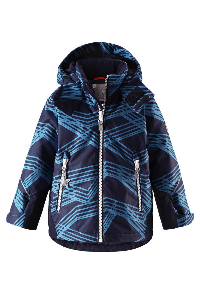 Куртка детская Reima Reimatec Kiddo Grane, цвет: темно-синий. 521511B6493. Размер 122 куртка детская reima reimatec furu цвет синий 521515f6741 размер 128