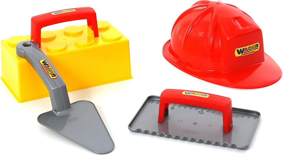 Полесье Игровой набор Каменщик №3 Construct бетономешалка набор каменщика wader construct 7 wader construct 8 элементов в коробке [50649 pls]