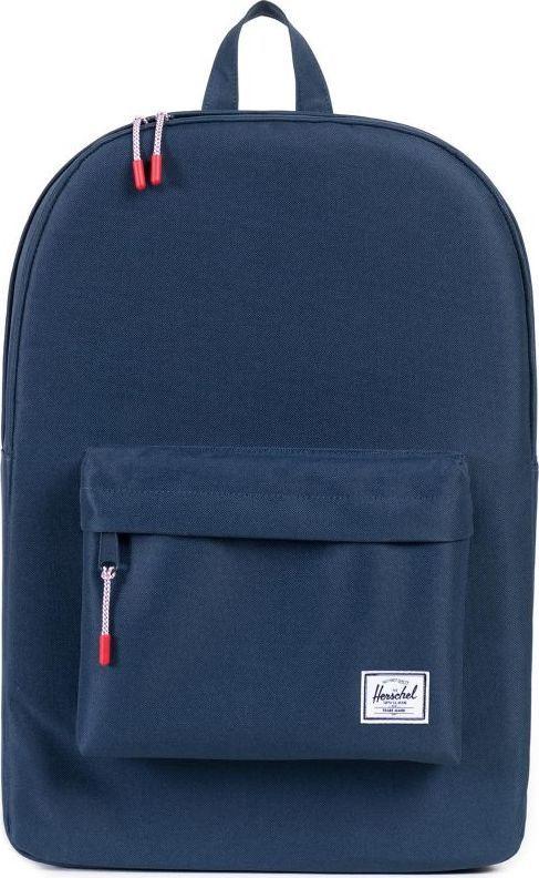 Рюкзак городской Herschel Classics, цвет: синий, 22 л. 10001-00007-OS рюкзак городской herschel packable daypack цвет серый черный 24 5 л 10076 01413 os