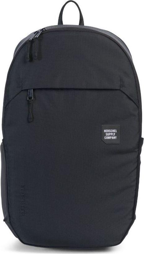 Рюкзак городской Herschel Mammoth Large, цвет: черный, 25 л. 10322-01174-OS10322-01174-OSГородской рюкзак Mammoth Largeминималистичный и стильный, имеет объем 25 литров и массу дополнительных плюсов, которые позволяют назвать его практически идеальной городской моделью. Судите сами: прочный нейлон с усиленным основанием, влагозащита, защищенный карман для ноутбука, неопреновый чехол для ключей с карабином, карманы для бутылок, защитный чехол на случай дождя, контурные лямки и светоотражающие детали. Эргономичный дизайн.