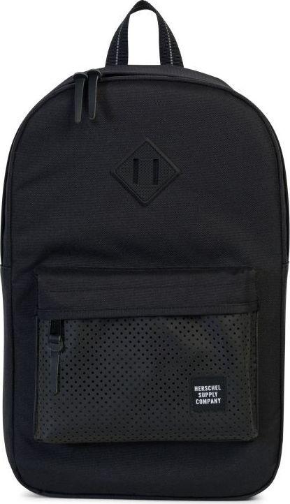 Рюкзак городской Herschel Heritage Mid-Volume, цвет: черный, 14,5 л. 10019-01553-OS рюкзак городской herschel packable daypack цвет серый черный 24 5 л 10076 01413 os