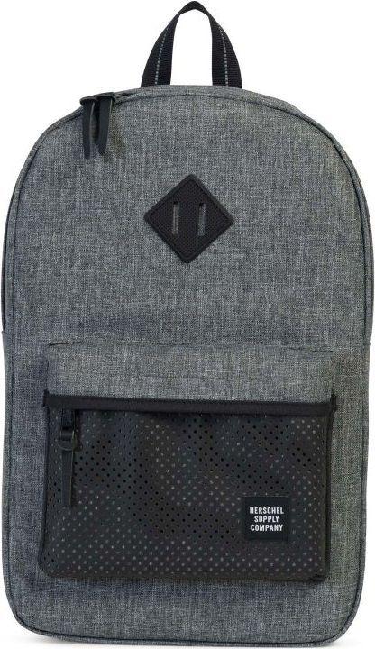 Рюкзак городской Herschel Heritage Mid-Volume, цвет: серый, черный, 14,5 л. 10019-01554-OS рюкзак городской herschel packable daypack цвет серый черный 24 5 л 10076 01413 os