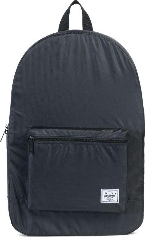 Рюкзак городской Herschel Packable Daypack, цвет: черный, 24,5 л. 10076-01566-OS рюкзак городской herschel packable daypack цвет серый черный 24 5 л 10076 01413 os