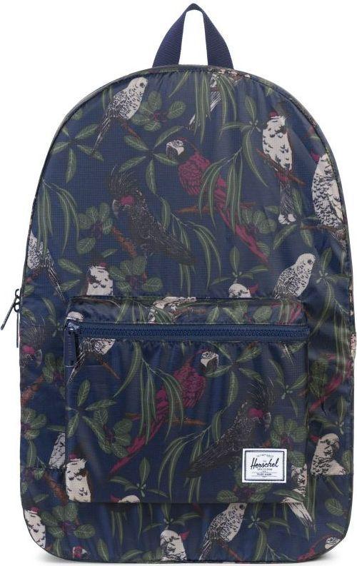 Рюкзак городской Herschel Packable Daypack, цвет: синий, серый, зеленый, 24,5 л. 10076-01593-OS рюкзак городской herschel packable daypack цвет серый черный 24 5 л 10076 01413 os