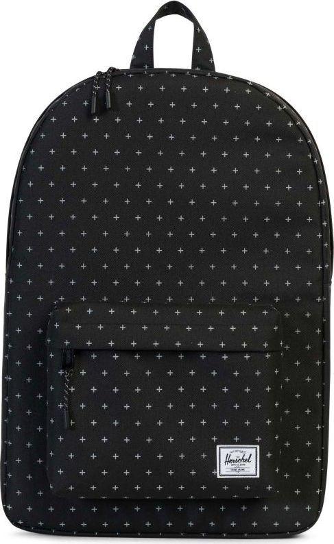 Рюкзак городской Herschel Classics, цвет: черный, белый, 22 л. 10001-01577-OS рюкзак городской herschel packable daypack цвет серый черный 24 5 л 10076 01413 os
