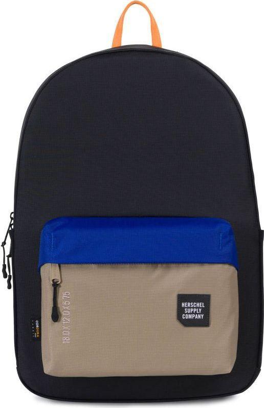 Рюкзак городской Herschel Rundle, цвет: бежевый, синий, черный, 24,5 л. 10298-01628-OS рюкзак городской herschel packable daypack цвет серый черный 24 5 л 10076 01413 os