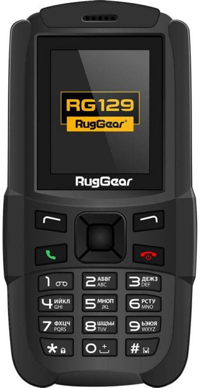 RugGear RG129, BlackRG129RugGear RG129 - простой и надежный телефон с MP3-плеером, FM-радио, фонариком, защищенный от пыли и влаги.Только связь и ничего лишнего – новый RugGear RG 129 отлично подойдет тем, кто хочет получить от жизни максимум, не отвлекаясь на мелочи. Защищенный от пыли и влаги по стандарту IP67, этот телефон создан, чтобы пережить самые суровые условия эксплуатации. И сохранить работоспособность несмотря ни на что.В RugGear RG129 нет ненужных наворотов: вы получаете неубиваемое, простое и надежное устройство для звонков, в котором предусмотрено два слота для SIM-карт. Заскучать в долгом походе или путешествии не даст MP3-плеер (встроенная память телефона расширяется с помощью microSD-карт) и FM-радио. Причем наслаждаться музыкой можно не только одному, но и в компании: RugGear RG129 поддерживает подключение беспроводных гарнитур и портативных колонок по Bluetooth.Телефон сертифицирован EAC и имеет русифицированную клавиатуру, меню и Руководство пользователя.