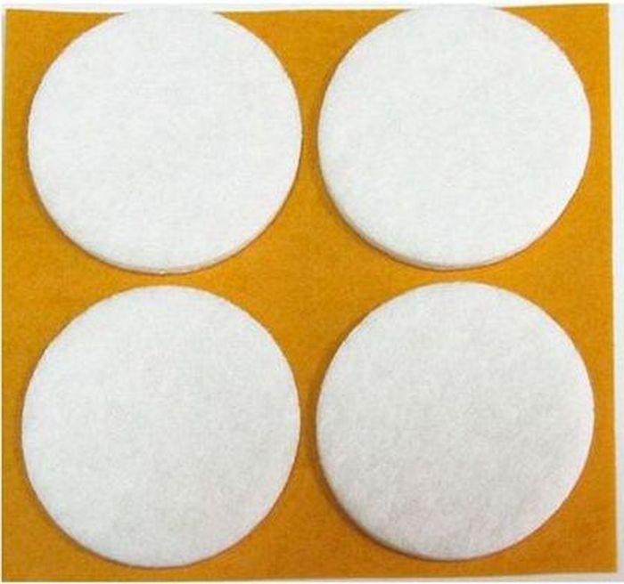 Подпятник для мебели Tech-KREP, самоклеящийся, цвет: белый, диаметр 20 мм, 16 шт109152Подпятник самоклеящийся для мебели Tech-KREP изготовлен из плотного фетра. Подпятник применяется для ножек габаритных предметов мебели, конструкции которых имеют большой вес. Благодаря подпятнику удается подкорректировать уровень установки и монтажа мебели. Изделие фиксируется на нижних торцах боковых стенок шкафов, комодов и тумб. Диаметр: 2 см.