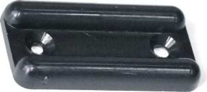 Подпятник для мебели Tech-KREP, цвет: черный, 4 шт112597Подпятник Tech-KREP изготовлен из прочного пластика. Подпятник применяется для ножек габаритных предметов мебели, конструкции которых имеют большой вес. Благодаря подпятнику удается подкорректировать уровень установки и монтажа мебели. Изделие фиксируется на нижних торцах боковых стенок шкафов, комодов, больших тумб с габаритным весом. Размер: 3,5 х 1,8 см.