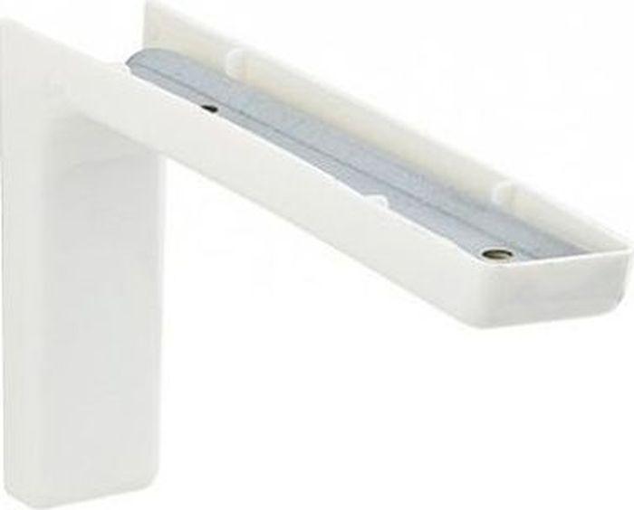 Консоль Tech-KREP, с декоративной накладкой, цвет: белый, длина 18 см129953Консоль Tech-KREP изготовлена из металла и оформлена пластиковой декоративной накладкой. Консоль устанавливается на мебель и предназначено для поддержки деревянных полок. Изделие послужит украшением и стильным элементом дизайна вашего интерьера. С внутренней стороны консоли имеются отверстия для крепления. Размер: 18 х 11,5 х 3,5 см.