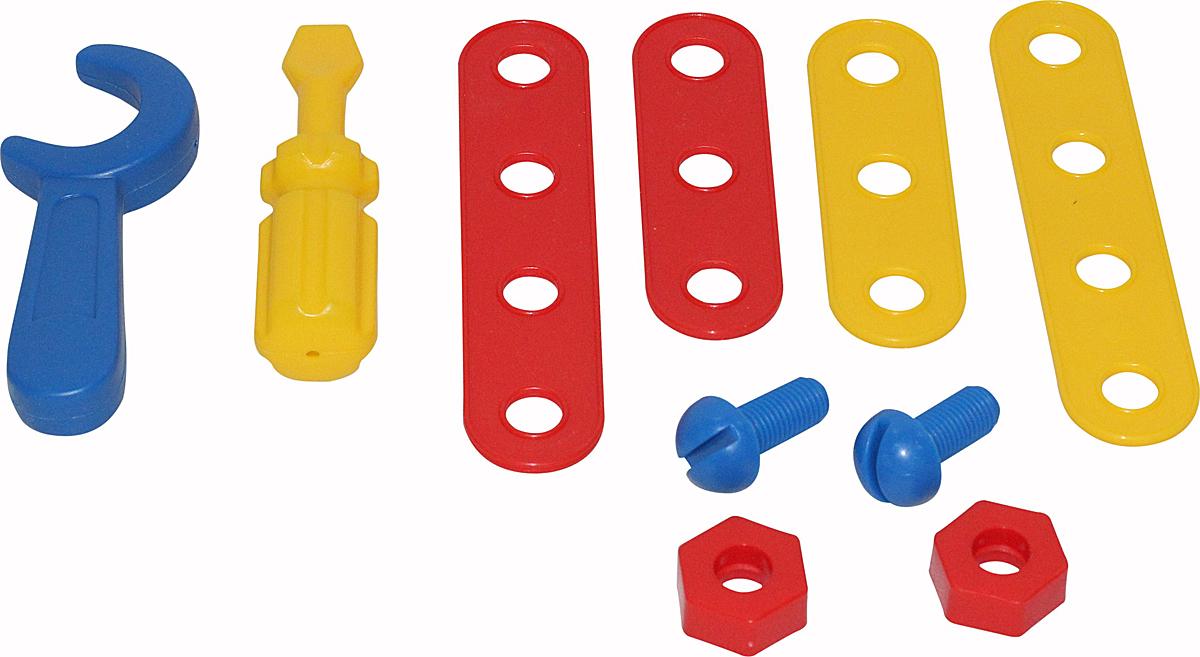Полесье Игровой набор Механик 56054 мастерская игрушечная полесье полесье набор инструментов механик