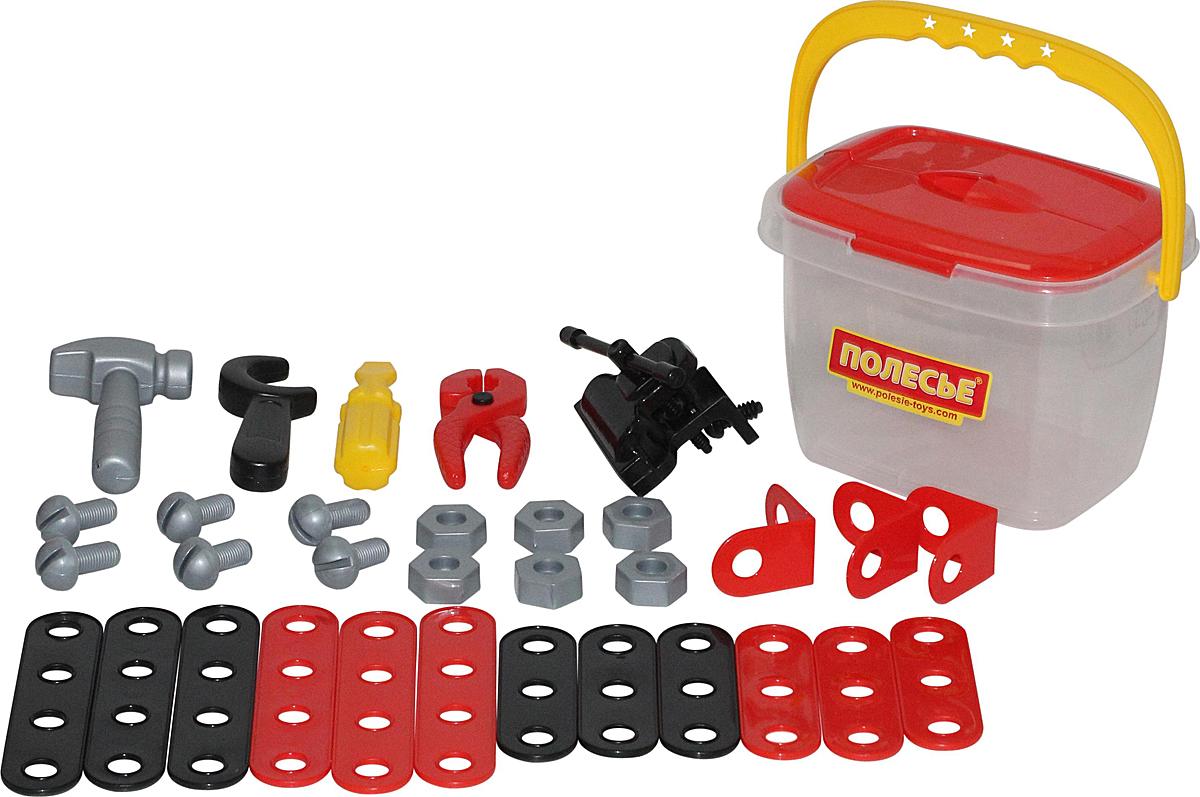 Полесье Игровой набор Механик 56603 мастерская игрушечная полесье полесье набор инструментов механик