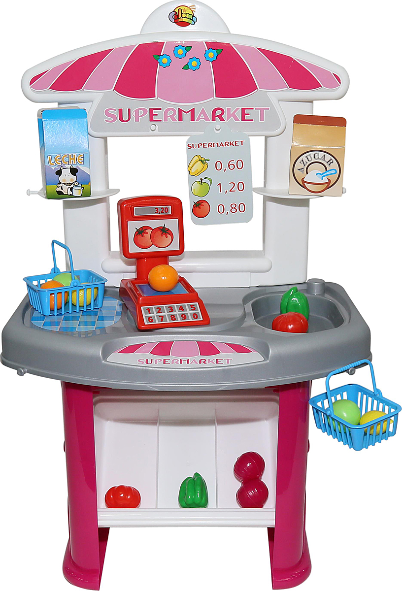 Полесье Игровой набор Мини Супермаркет 53404 игрушки для ванны полесье паром балтик автомобиль мини 4 шт