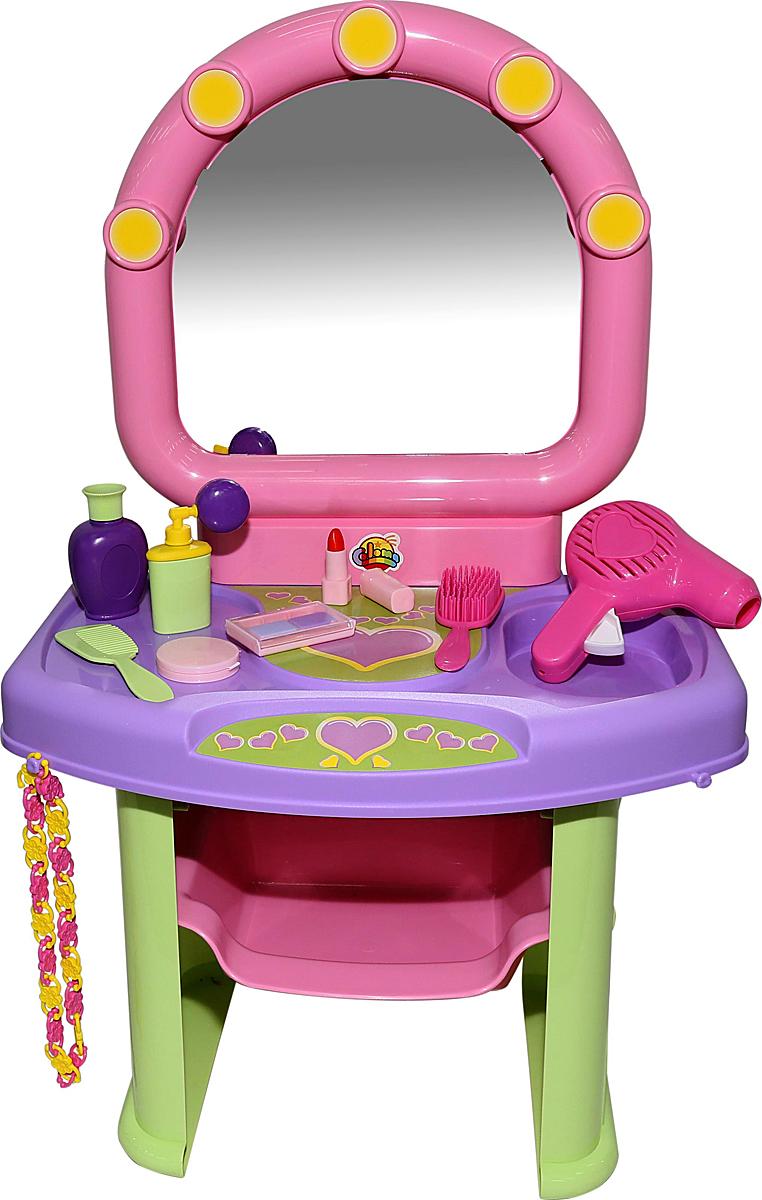 Полесье Игровой набор Салон красоты 53039 туалетный столик полесье салон красоты диана 4 43146 pls