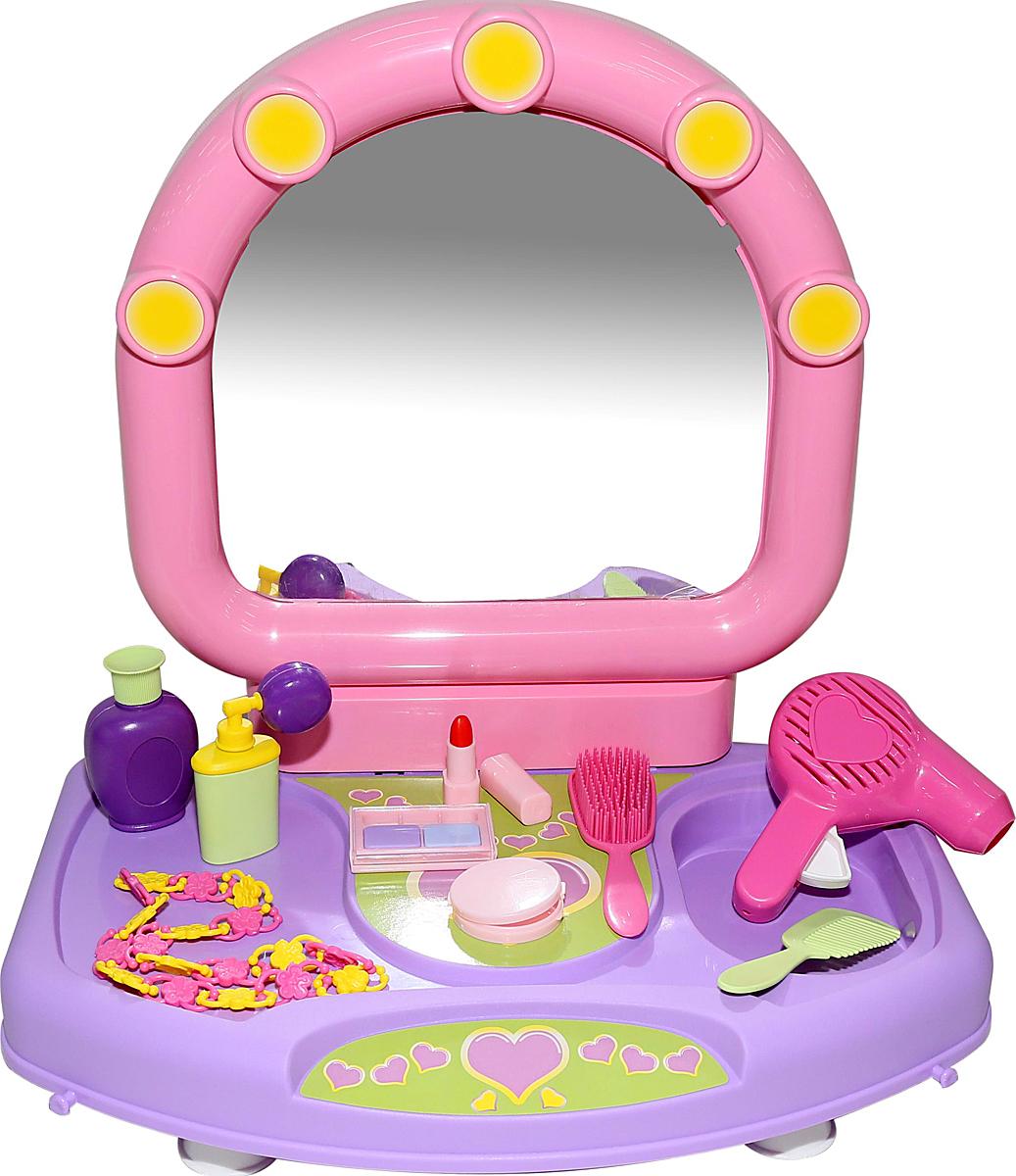 Полесье Игровой набор Салон красоты Милена 53428 туалетный столик полесье салон красоты диана 4 43146 pls
