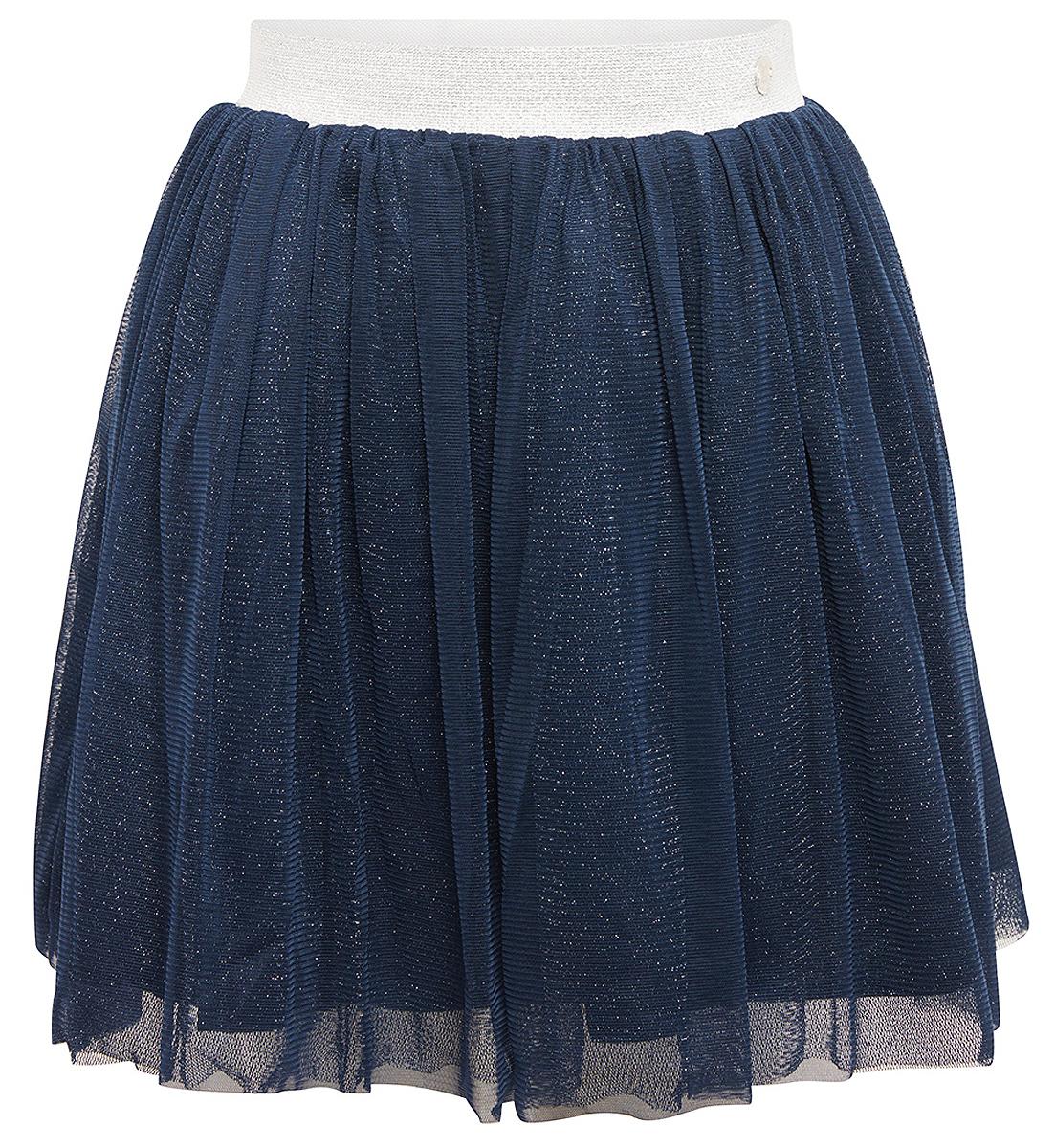 Юбка для девочки Tom Tailor, цвет: синий. 5513521.00.81_6519. Размер 104/1105513521.00.81_6519Юбка для девочки от Tom Tailor выполнена из высококачественного материала в несколько слоев. Модель мини длины на талии дополнена широким эластичным поясом.