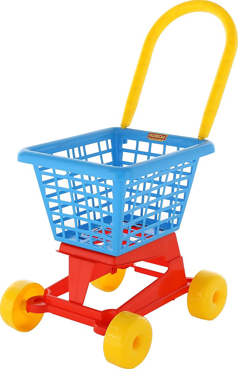 Полесье Игрушечная тележка Supermarket №1 посуда из пластика интернет магазин