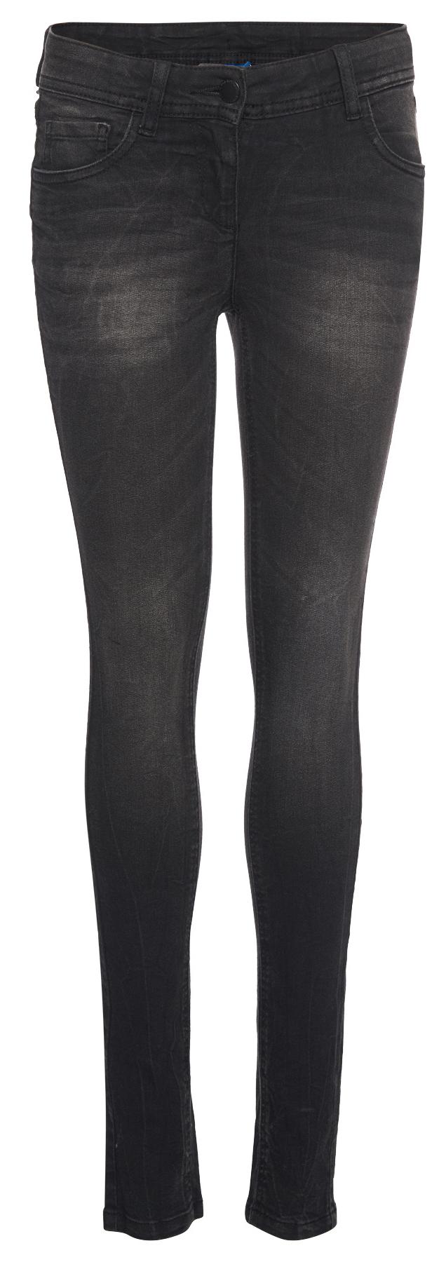 Джинсы для девочки Tom Tailor, цвет: черный. 6205769.09.40. Размер 152