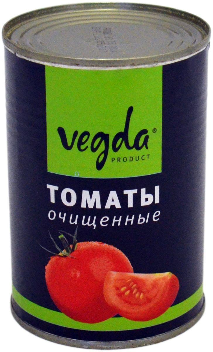 Vegda томаты очищенные Италия, 425 мл pasta zara улитки макароны 500 г