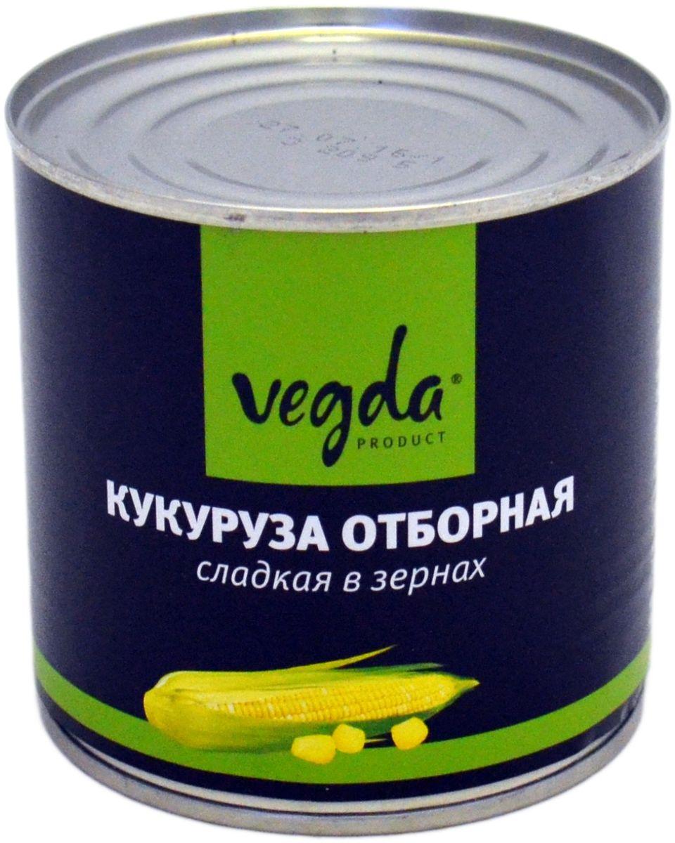 Vegda кукуруза отборная сладкая в зернах ГОСТ, 340 г4607045603874Продукт изготовлен из высококачественных ингредиентов, по современным технологиям.