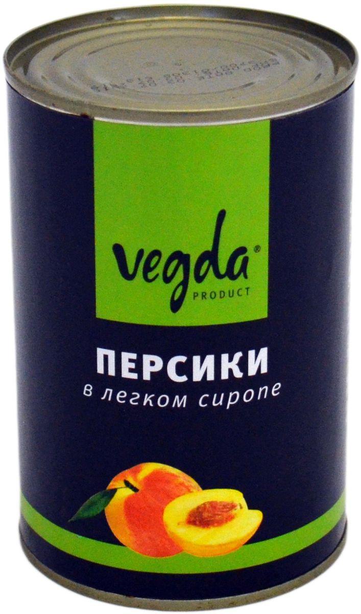 Vegda персики в сиропе, 425 мл, Vegda Product