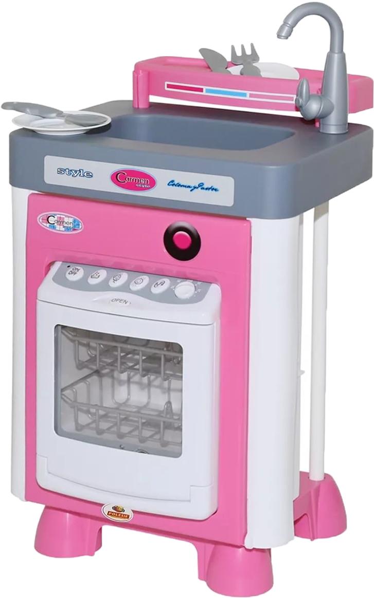 Полесье Игровой набор Carmen №1 с посудомоечной машиной 47922 игровой набор полесье carmen 5 с аксессуарами 58843