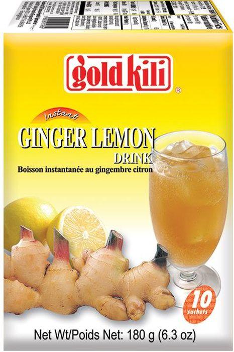 Gold Kili быстрорастворимый имбирный напиток с лимоном и медом, 180 г8888296019355Яркий, насыщенный, терпкий, обжигающий. Предотвращает малейшие симптомы простуды, тошноты и боли. Регулярное употребление утром способствует детоксикации организма, улучшает обмен веществ. Обладает более сильным бодрящим и тонизирующим эффектом, чем кофе. Идеален для всех как в горячем, так и в холодном виде, по любому поводу, зимой и летом. Напиток можно добавлять в чай, кофе, молоко и кефир, соки или подавать с содовой и льдом.