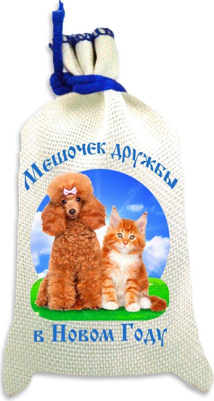 Магнит Sima-land Мешочек дружбы в Новом Году. Кошка и собака, 10 х 6 см2246944Порадуйте родных и близких оригинальным сувениром: преподнесите в подарок магнит. С ним даже самый серьёзный человек почувствует себя ребёнком, ожидающим чудо! Создайте праздничное настроение, и оно останется с вами на весь год.