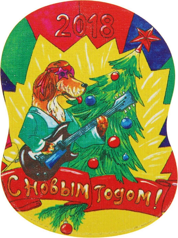 Магнит ТД ДМ С новым годом. Символ года, цвет: красный, 8 х 6 см2368017Порадуйте родных и близких оригинальным сувениром: преподнесите в подарок магнит. С ним даже самый серьёзный человек почувствует себя ребёнком, ожидающим чудо! Создайте праздничное настроение, и оно останется с вами на весь год.