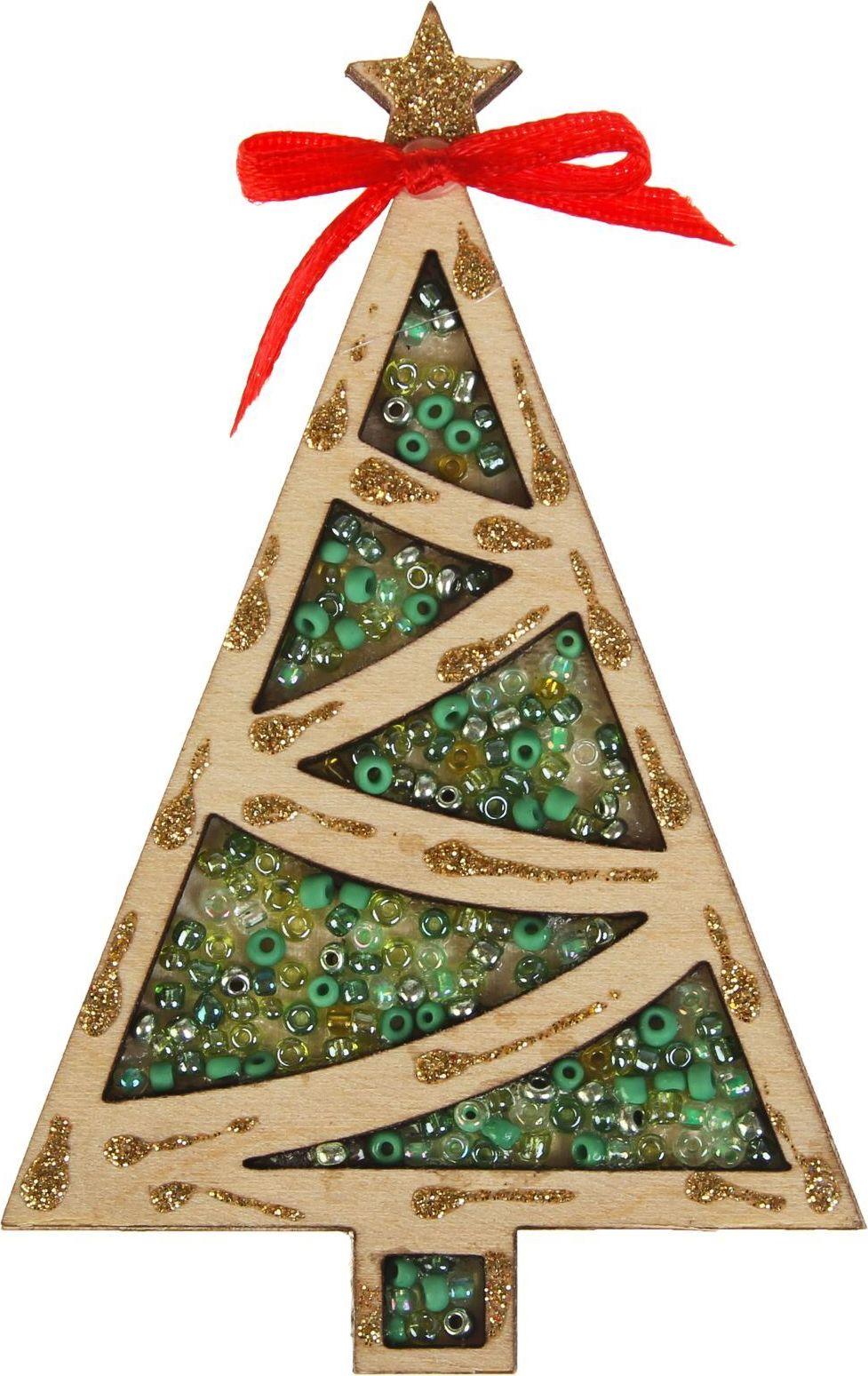 Магнит Канышевы Елочка классика, 6,5 х 10 см2570628Порадуйте родных и близких оригинальным сувениром: преподнесите в подарок магнит. С ним даже самый серьёзный человек почувствует себя ребёнком, ожидающим чудо! Создайте праздничное настроение, и оно останется с вами на весь год.
