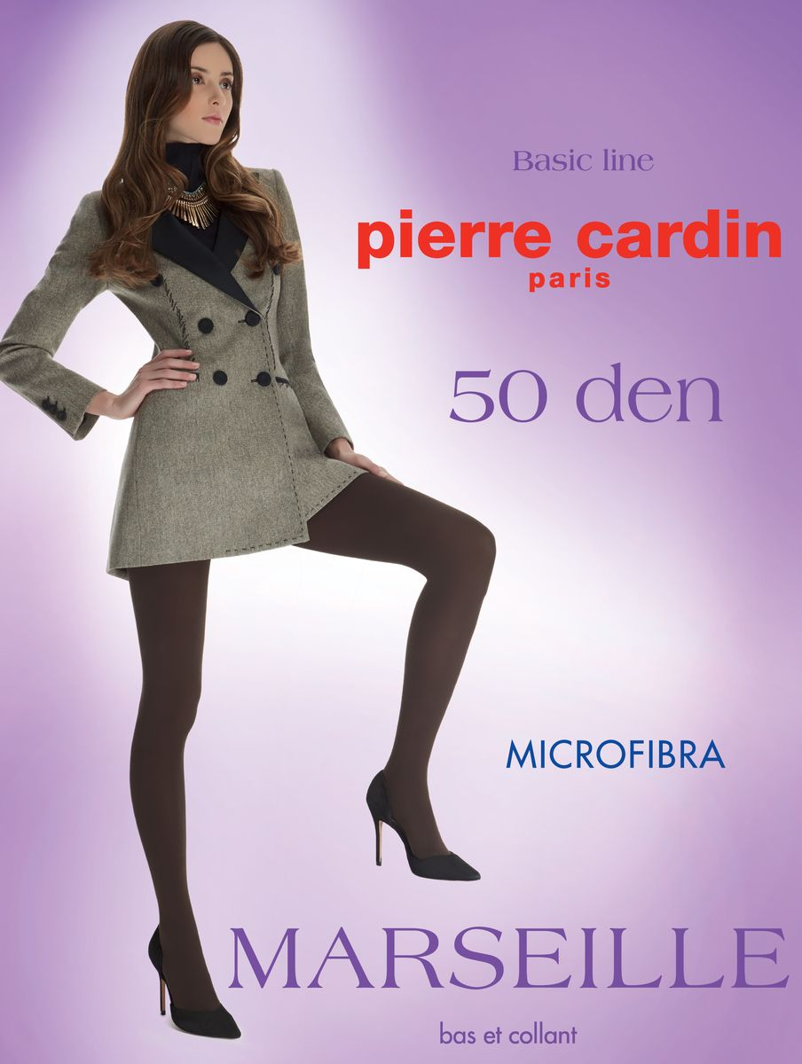 Колготки женские Pierre Cardin Marseille 50, цвет: Nero (черный). Размер 4 (46/48) колготки pierre cardin cr toulouse 200 цвет nero черный размер 4