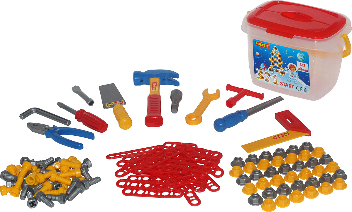Полесье Игрушечный набор инструментов №3 мастерская игрушечная полесье полесье набор инструментов механик