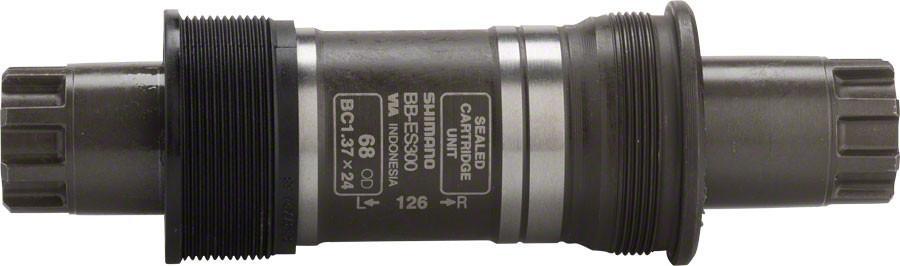 Каретка Shimano ES300, 68/126 мм, без болтовEBBES300B26Каретка, ES300, 68/126, б/болтов