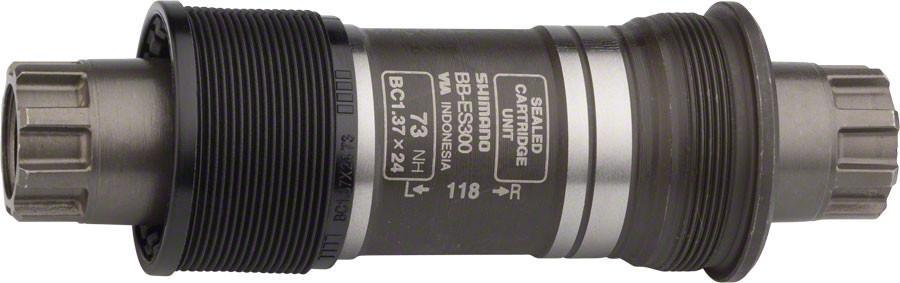 Каретка Shimano ES300, 73/118 мм, без болтовEBBES300C18Каретка, ES300, 73/118, б/болтов