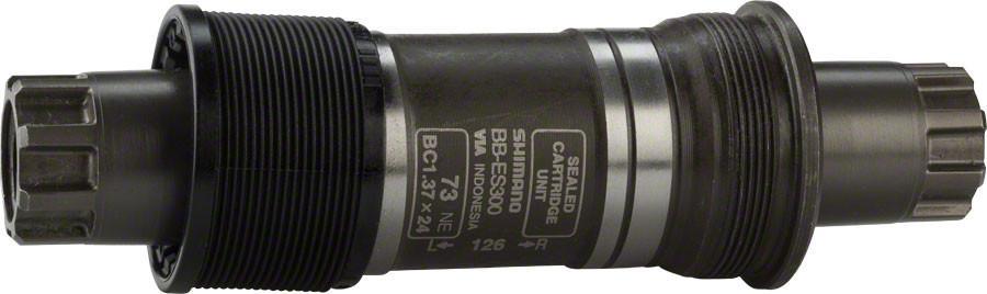Каретка Shimano ES300, 73/126 мм, без болтовEBBES300C26Каретка, ES300, 73/126, б/болтов