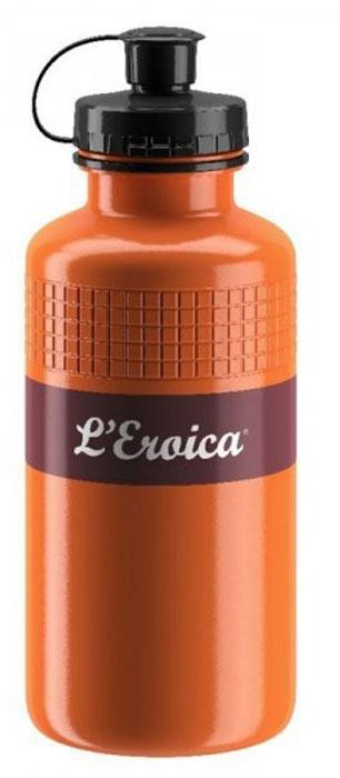 Фляга велосипедная Elite Eroica Rust, 500 млEL0160300Фляга 500 мл Eroica RustГид по велоаксессуарам. Статья OZON Гид