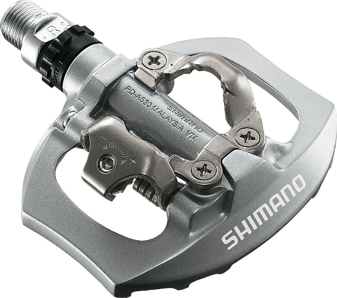 Педали Shimano  A530 , SPD, с шипами, SM-SH51 - Велосипеды и аксессуары