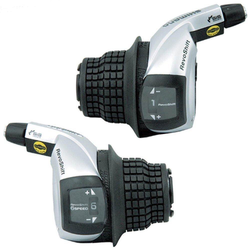 Шифтер Shimano Tourney TX50, 3 x 6 скоростейESLTX50P6FATШифтер Tourney, TX50, лев/пр, 3x6(Frict)ск, тр.+оплетк