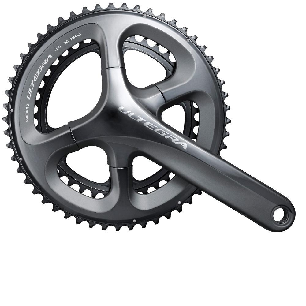 Система шатунов Shimano  Ultegra 6800 , 175 мм, 50/34T без каретки - Велосипеды и аксессуары