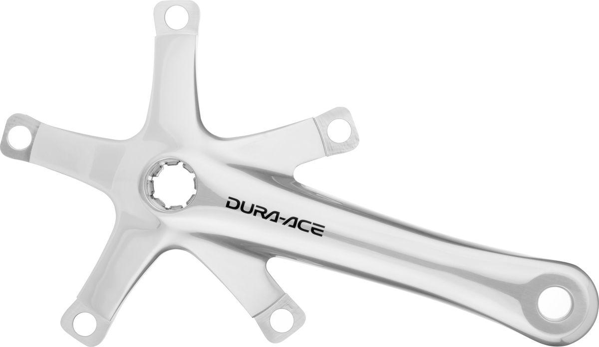 Система шатунов Shimano DA Track 7710, 172,5 мм, без звезды, NJSIFC7710DСитсема шатунов Dura-Ace FC-7710. Усиленные шатуны для трековых заездов, шлицевой интерфейс для каретки Octalink, превосходный баланс легкости и жесткости конструкции – все это дает победное преимущество в заездах по кольцевым трекам всего мира! Идеально подойдет для велосипедов с фиксированной передачей (фикс). Совместимые каретки: BB-7700 и BB-7710; Конструкция системы: Hollowtech/Octalink; Длина шатунов: 172.5 мм; Монтаж: шлицевая установка Octalink на каретку Dura-Ace