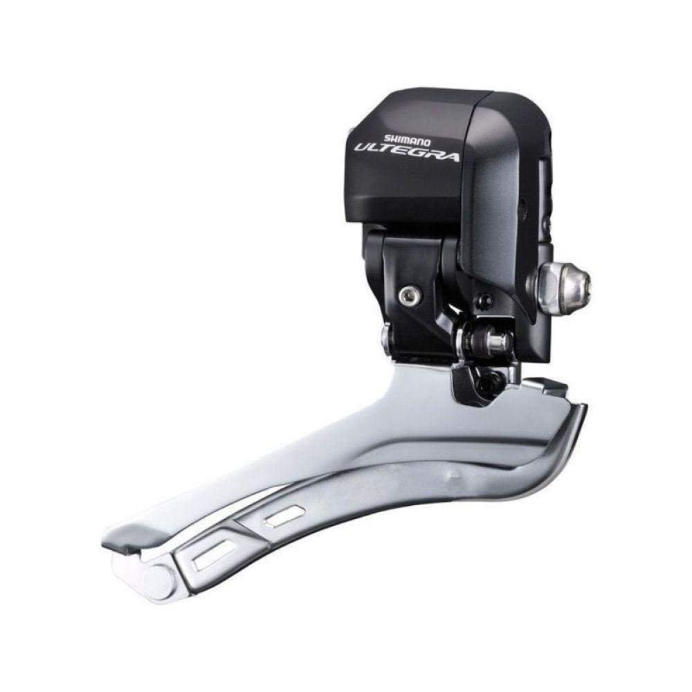 Переключатель передний Shimano Ultegra Di2 6870-F, на упор, 2 х 11 скоростей запчасть shimano электропровод di2 ew sd50 для ultegra di2 400 мм