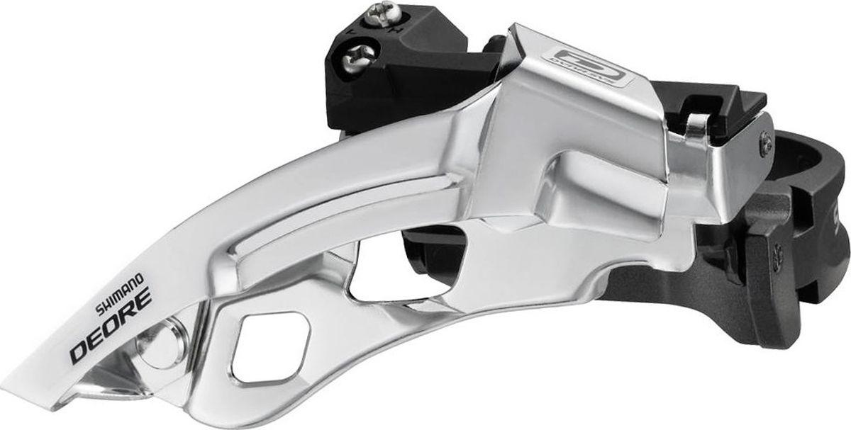 Переключатель передний Shimano Deore M610, универсальная тяга, универсальный хомут, для 40-42T, хомут 34,9 с адаптером 28,6/3IFDM610X6Переключатель передний Shimano Deore FD-M610, 3x10 скоростей для горных и туристических велосипедов.Универсальная тяга и хомут с проставками под различные диаметрыПростая и быстрая настройкаСовместимость с трансмиссией на 3х10 скоростейВыпускается в нескольких вариантах крепления
