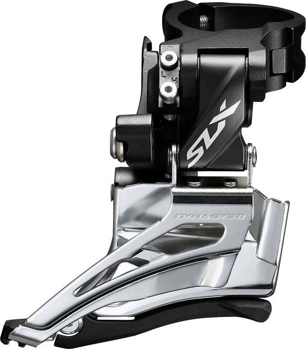 Переключатель передний Shimano SLX M7025-H, для 2 х 11 скоростей, верхний хомут, универсальная тяга батарею для тексет 7025