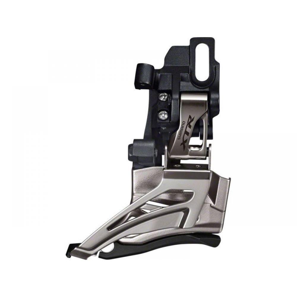 Переключатель передний Shimano XTR M9025-D, 2 х 11 скоростей, универсальная тягаIFDM9025D6Переключатель передний Shimano XTR FD-M9025-D, для привода 2x11 скоростей, на упор, универсальная тяга.